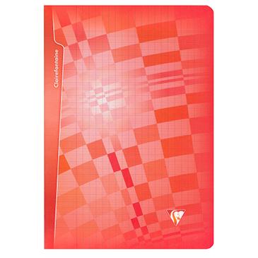 Cahier piqué polypro cristalline 4/10° 21×29,7 96p séyès
