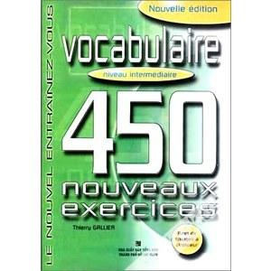 Vocabulaire 450 nouveaux exercices niveau intermédiaire