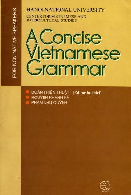 A Concise Vietnamese Grammar