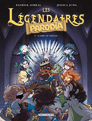 Les Légendaires Parodia Tome 5 - Album Game of drôle