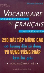 250 bài tập từ vựng tiếng pháp nâng cao