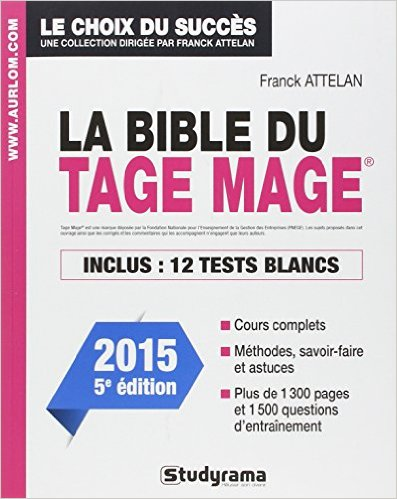 BIBLE DU TAGE MAGE 5 EDT (LA)