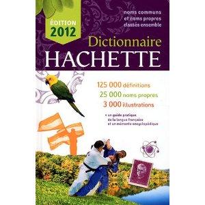 Dictionnaire Hachette 2012 Export