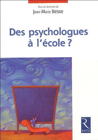 Des psychologues à l'école ?