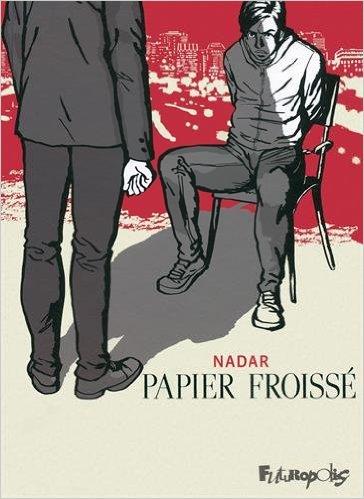 PAPIER FROISSE