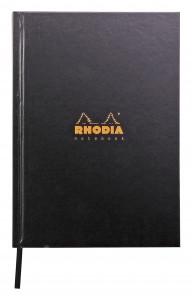Rhodia brochure rembordée rigide A5 (ligné)