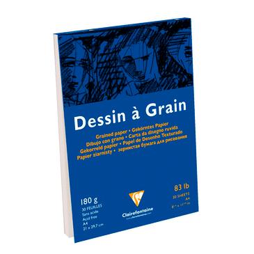Bloc dessin à grain encollé