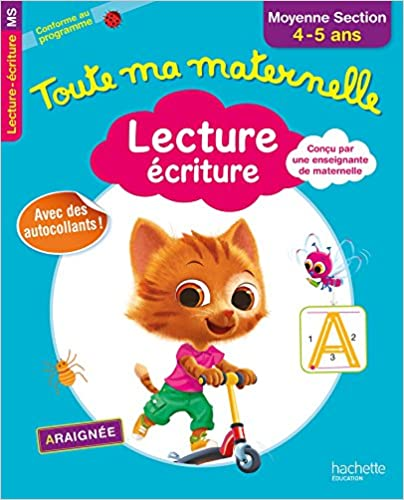 Lecture écriture, moyenne section