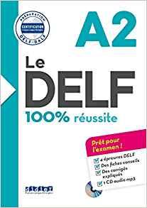 LE DELF - 100% REUSSITE - A2  - LIVRE + CD