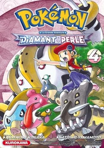 Pokémon Diamant et Perle - La grande aventure Tome 4