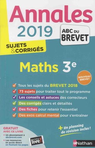 Mathématiques 3e - Sujets & corrigés