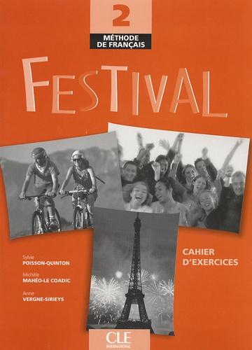 Festival Méthode de français 2 - Cahier d'exercices avec 1 CD audio