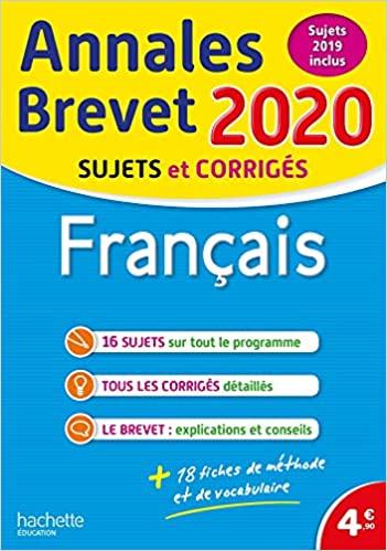 Français - Sujets et corrigés