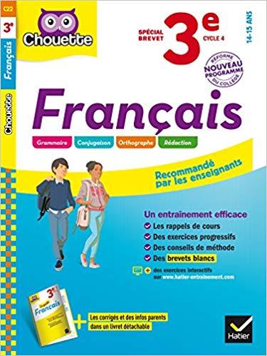 Français 3e Spécial brevet: cahier d'entraînement et de révision