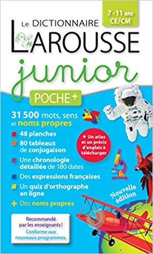 Larousse dictionnaire Junior poche plus