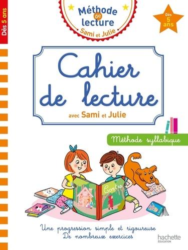 Cahier de lecture avec Sami et Julie - Méthode syllabique dès 5 ans