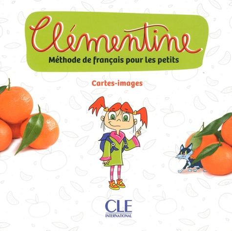 Méthode de français pour les petits Clémentine - Cartes-images