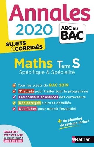 Mathématiques Tle S spécifique et spécialité - Sujets & Corrigés - Grand Format
