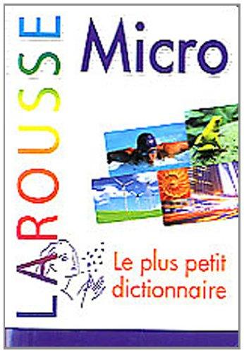 Dictionnaire Larousse micro
