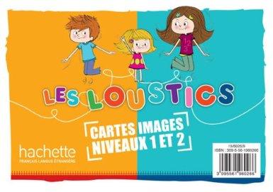 Les Loustics 1 et 2: 200 cartes-images en couleurs