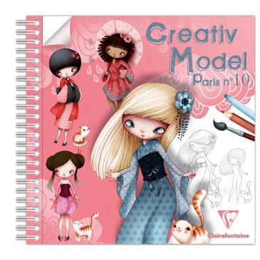 Créativ Model Paris N10, 50F, 20×20 cm