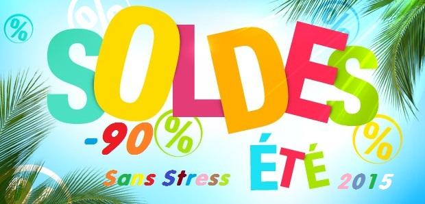 Soldes d'été 2015 sans stress  jusqu' à 90%