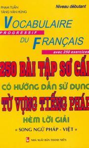 250 bài tập sơ cấp từ vựng tiếng Pháp