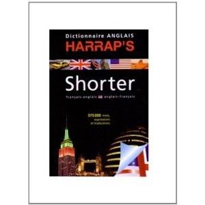 Harrap's Shorter anglais-français/français-anglais