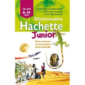 Dictionnaire Hachette Junior CE-CM - 8-11 ans