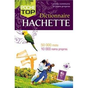 Dictinnaire Hachette Poche Top
