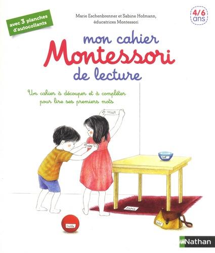 MON CAHIER MONTESSORI DE LECTURE