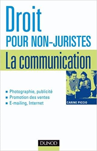 Droit pour non-juristes - La communication