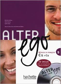Méthode de français Alter ego 5 C1-C2 (1 CD en format MP3)