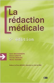 La rédaction médicale