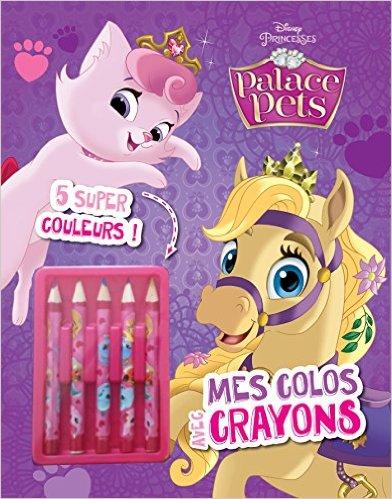 Mes colos avec crayons Palace Pets