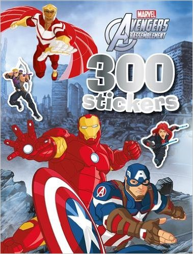 300 stickers Avengers rassemblement