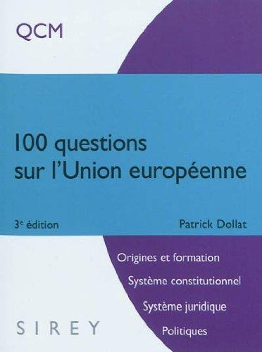 100 questions sur l'Union européenne : QCM