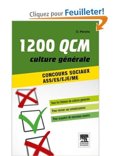 1200 QCM de culture générale concours sociaux