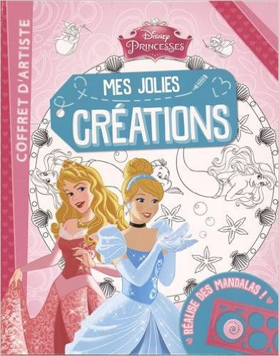 PRINCESSES, MES JOLIS MANDALAS, COFFRET RECREATION (+ SPIROGRAPHE)