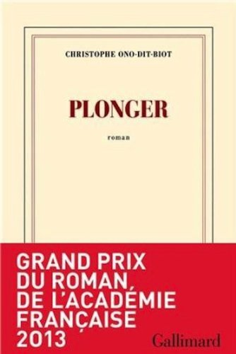 Plonger - Prix de l'Académie française 2013
