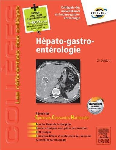Hépato-gastro-entérologie: Avec accès à la spécialité sur le site e-ecn.com