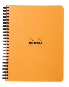 Rhodia Note Book orange A5+ ( ligné)