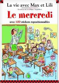 LE MERCREDI AVEC MAX ET LILI (100 AUTOCOLLANTS)