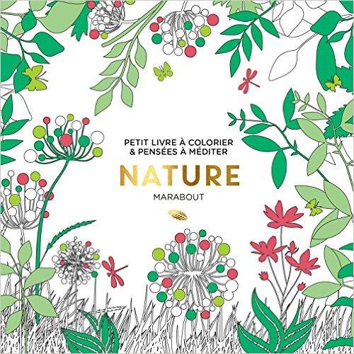 Le petit livre de coloriage : Nature