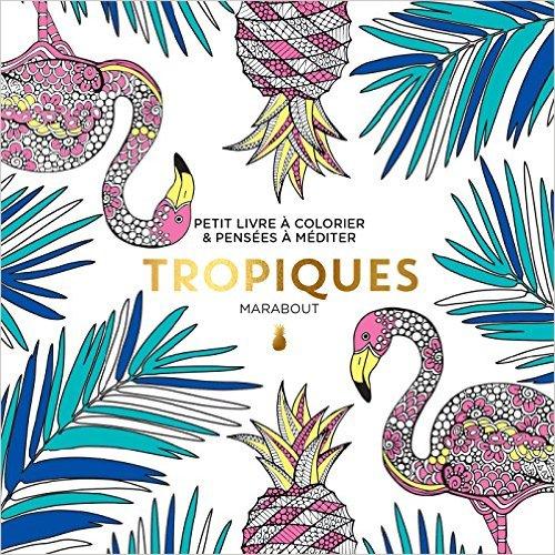 Le petit livre du coloriage : Tropiques