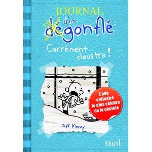 Journal d'un dégonflé, Tome 6: Carrément claustro !
