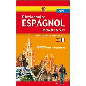 Mini Dictionnaire Hachette Vox Espagnol bilingue