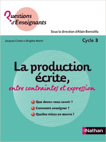 La production écrite, entre contraintes et expression