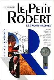 Dictionnaire Le Petit Robert des noms propres 2016 - Édition BIMÉDIA