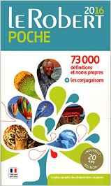 Dictionnaire Le Robert de poche 2016